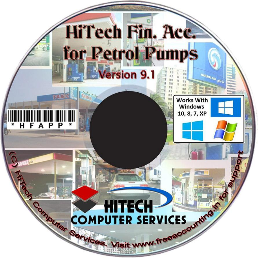 Petrol Pump Accounting Software CD
